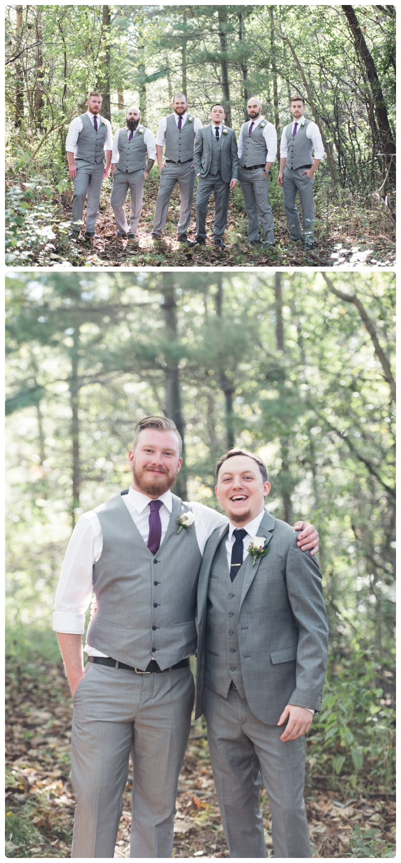 Backyard forest wedding in the Chicago suburbs by Rachael Foster Photography_0018.jpg