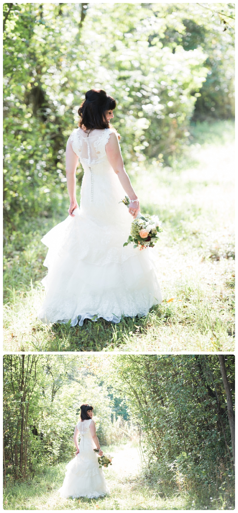 Backyard forest wedding in the Chicago suburbs by Rachael Foster Photography_0026.jpg