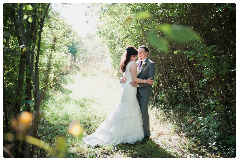 Backyard forest wedding in the Chicago suburbs by Rachael Foster Photography_0033.jpg