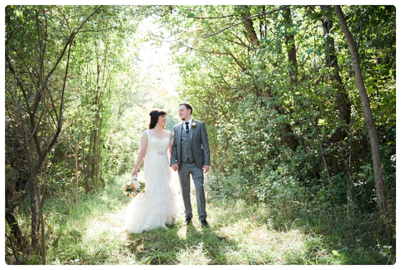 Backyard forest wedding in the Chicago suburbs by Rachael Foster Photography_0034.jpg