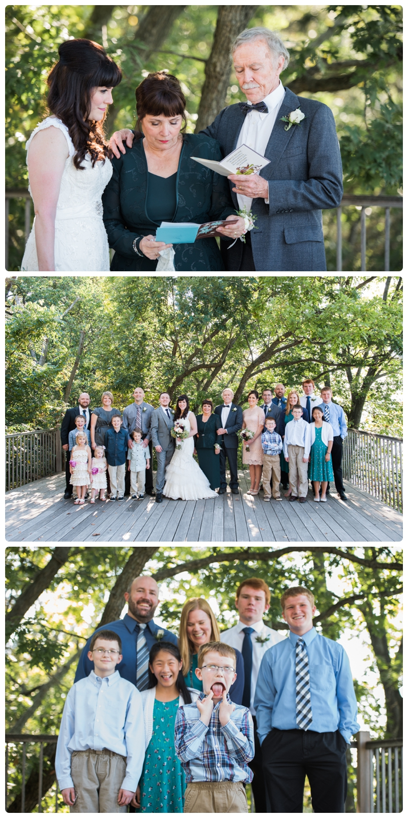 Backyard forest wedding in the Chicago suburbs by Rachael Foster Photography_0041.jpg