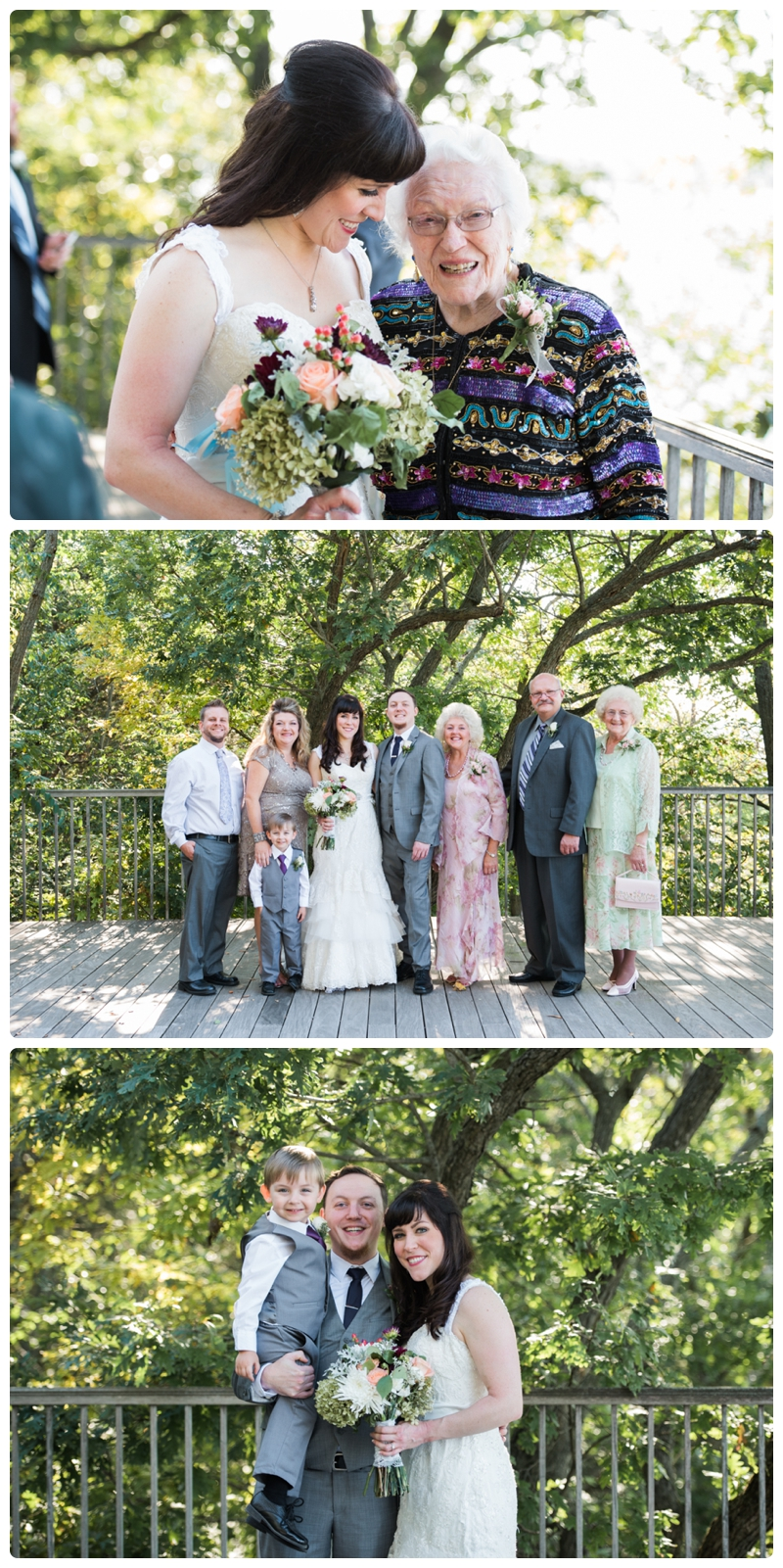 Backyard forest wedding in the Chicago suburbs by Rachael Foster Photography_0042.jpg