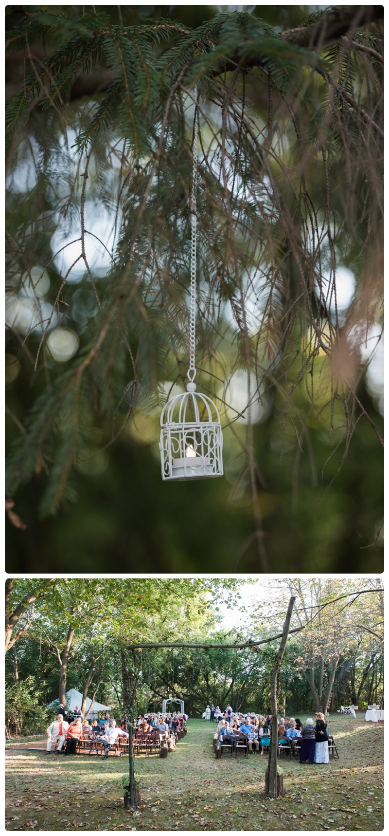 Backyard forest wedding in the Chicago suburbs by Rachael Foster Photography_0046.jpg