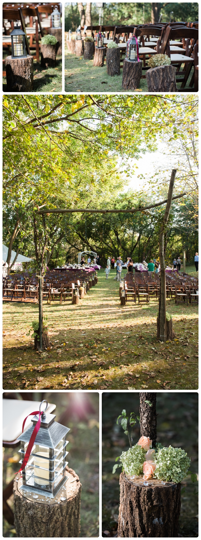 Backyard forest wedding in the Chicago suburbs by Rachael Foster Photography_0045.jpg
