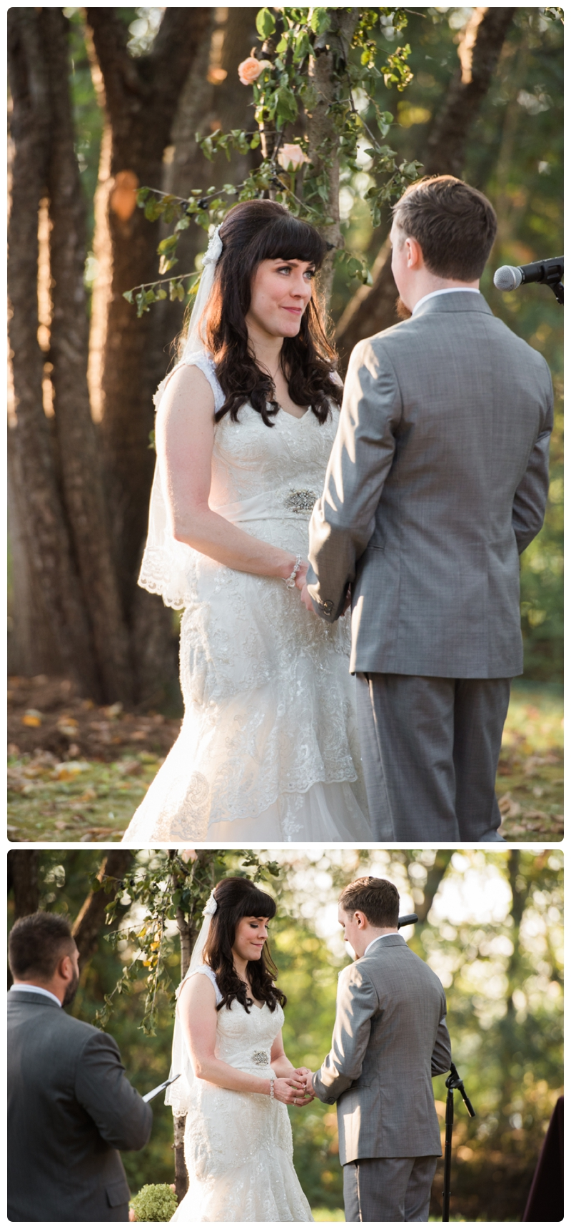 Backyard forest wedding in the Chicago suburbs by Rachael Foster Photography_0050.jpg