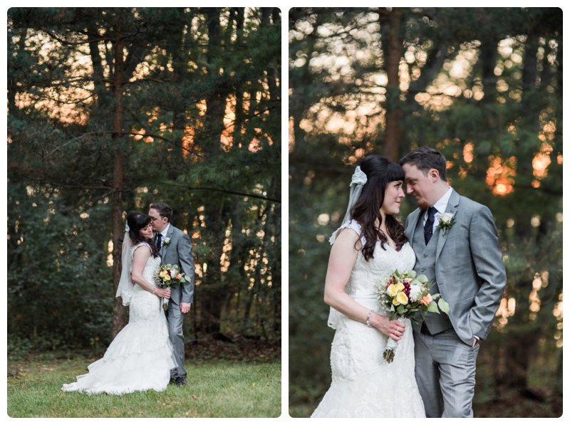 Backyard forest wedding in the Chicago suburbs by Rachael Foster Photography_0055.jpg