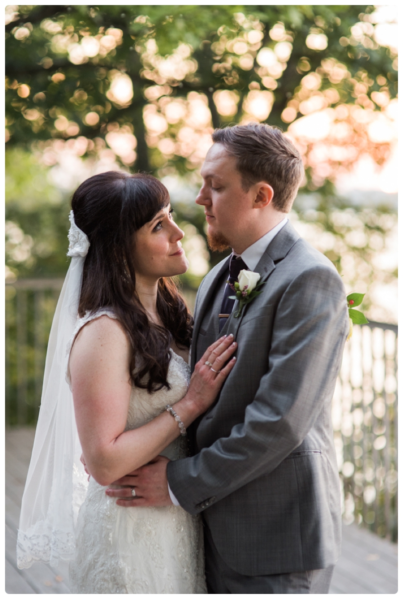 Backyard forest wedding in the Chicago suburbs by Rachael Foster Photography_0059.jpg