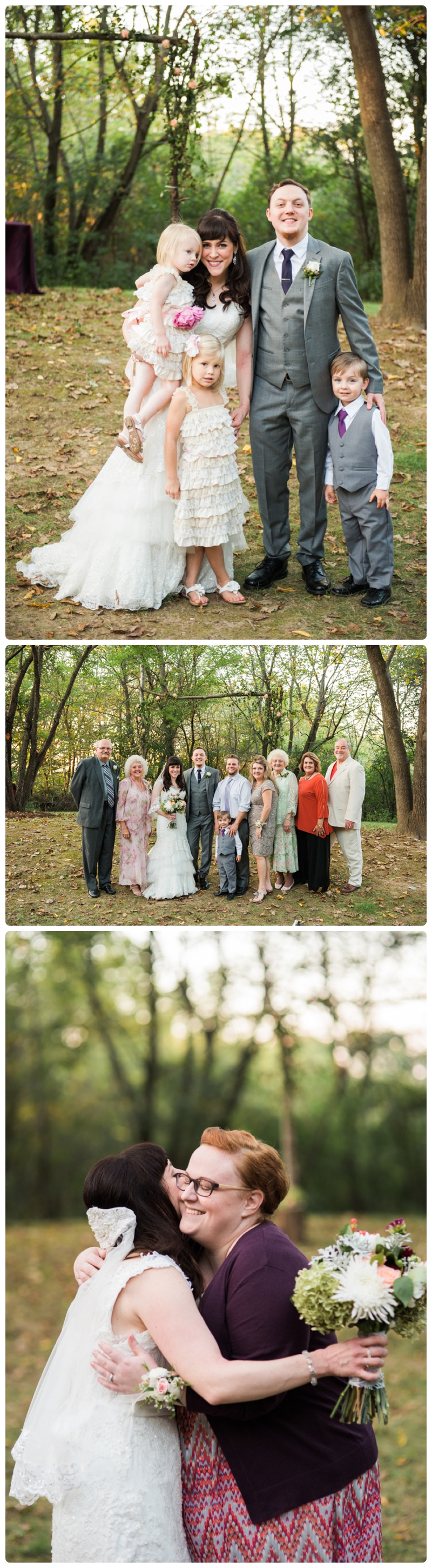 Backyard forest wedding in the Chicago suburbs by Rachael Foster Photography_0053.jpg