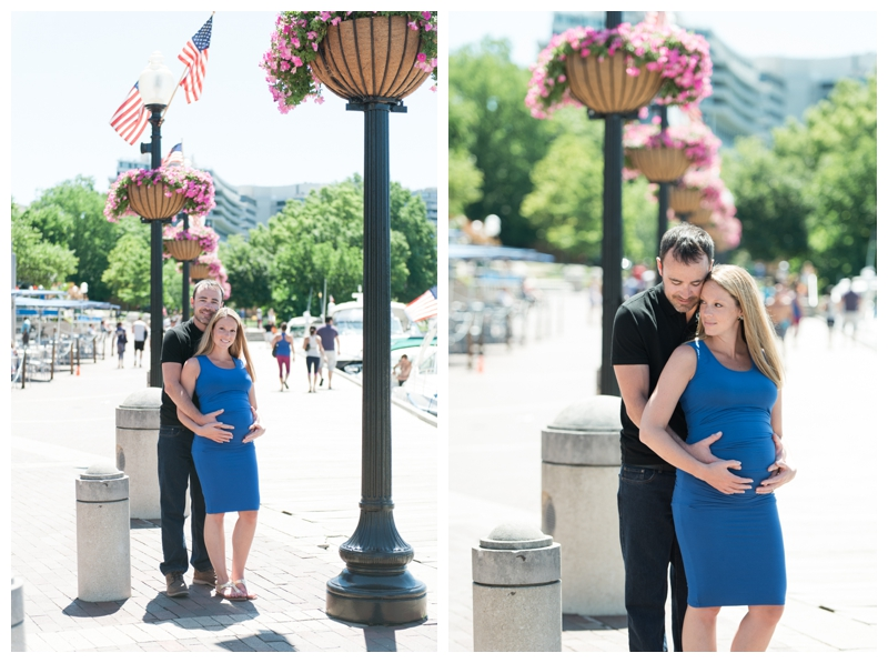 Maternity Session in Georgetown, Washington, DC by Rachael Foster Photography_0010.jpg