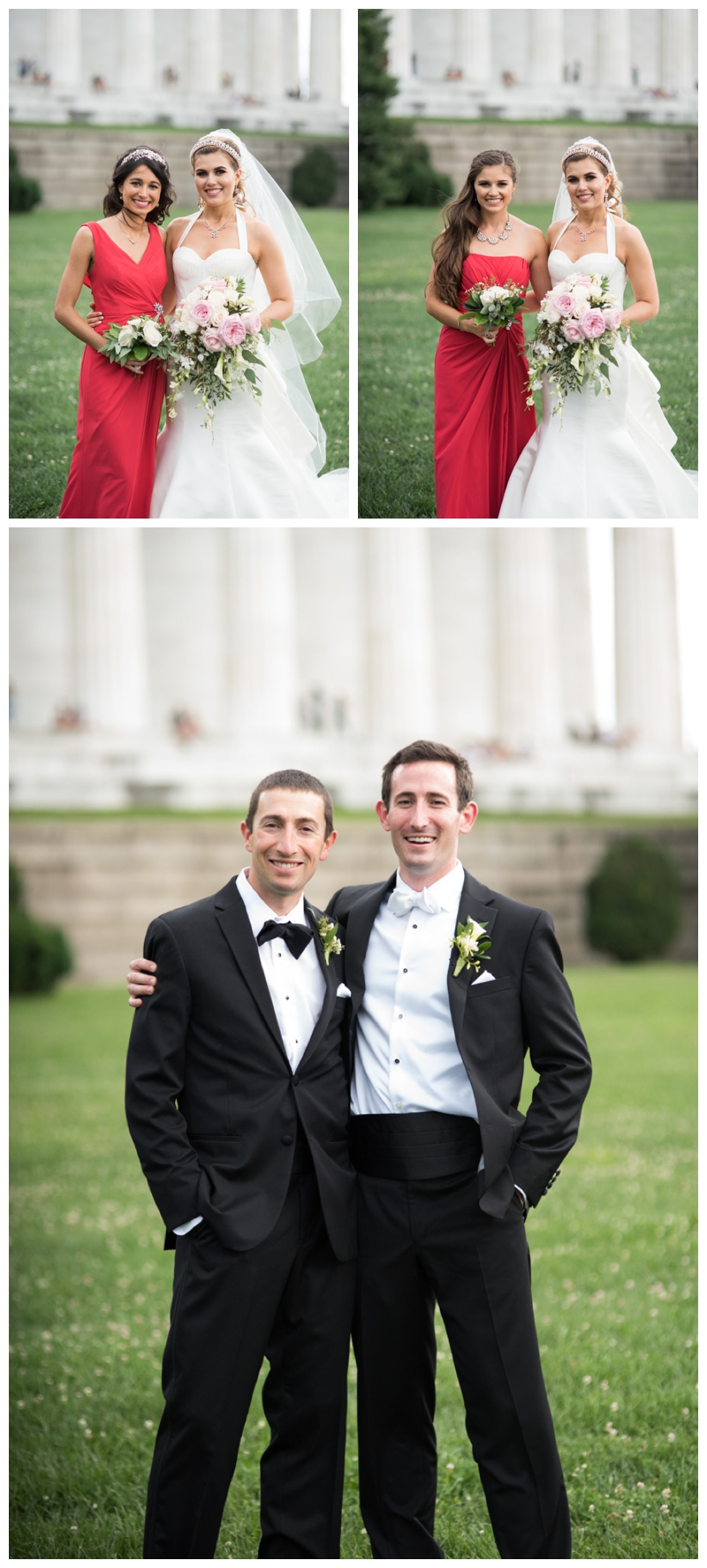DC Wedding Day Portraits at the Lincoln Memorial by Rachael Foster Photography_0061.jpg