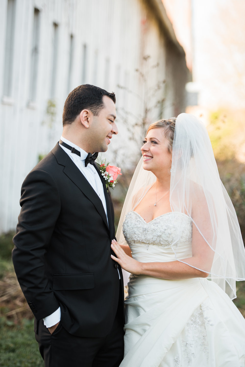 This couple requested a soft, natural light lookfor their wedding photos. Their final images were exactly what they'd envisioned.