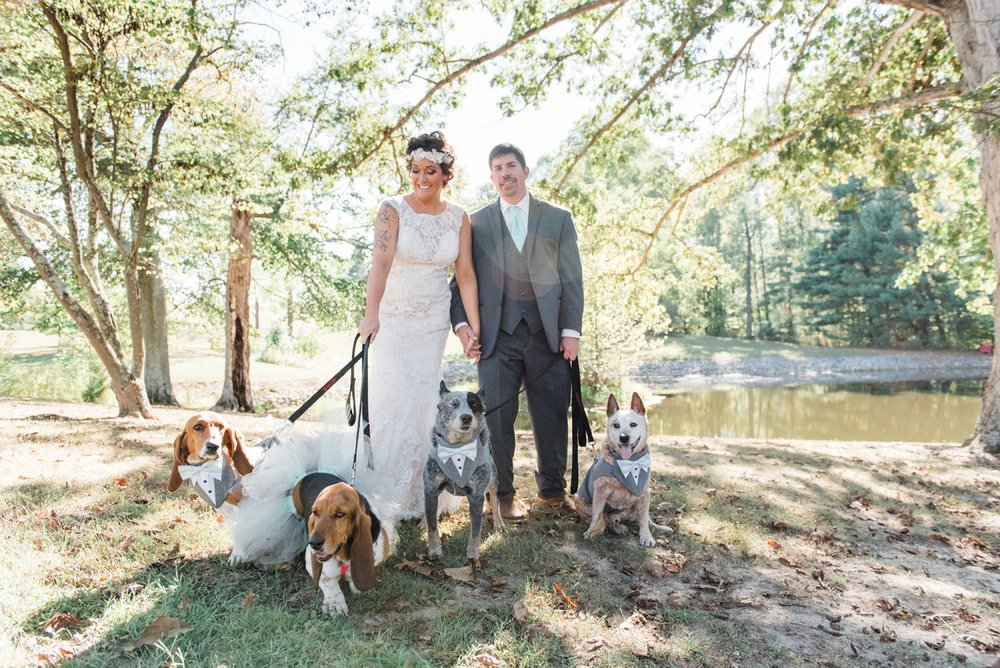 Rustic Barn Wedding with Sweet Rescue Dogs in Central Indiana_0020.jpg