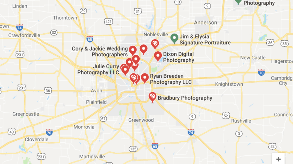 This is what you see if you search on Google. To find out what it's like to meet photographers in person, keep reading!