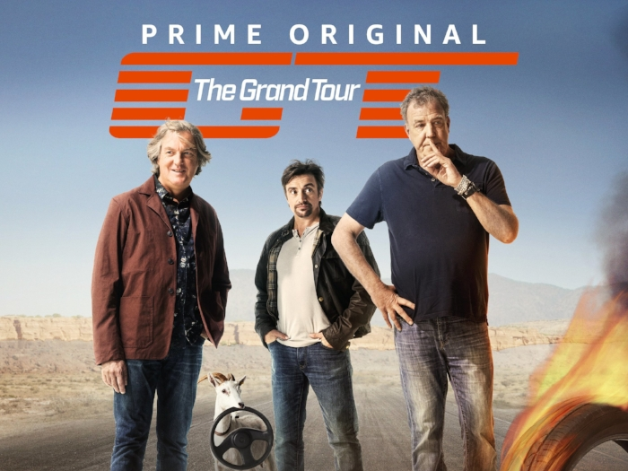 eremy Clarkson, James May y Richard Hammond . Conductores de Grand Tour de Amazon Prime