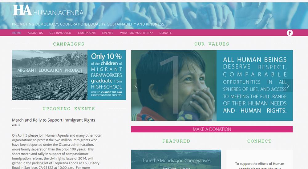 Human Agenda |  HumanAgenda.net