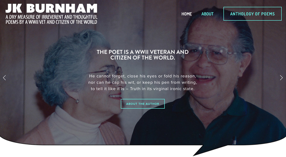 JK Burnham Poetry |  JKBurnhamPoetry.com
