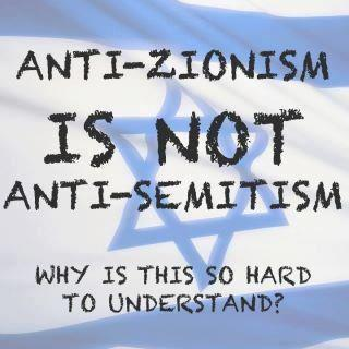 Anti-zionism is not anti-semitism.jpg