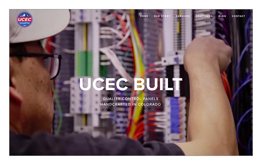 Magnetika Web Design: Utility Control and Equipment Corp (UCEC)