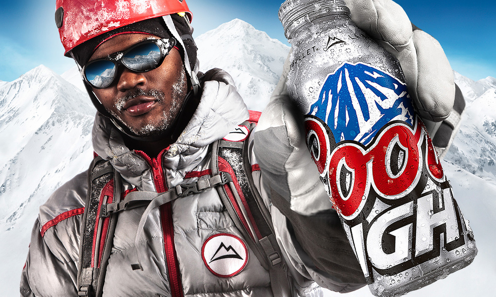 Coors Light Billboard