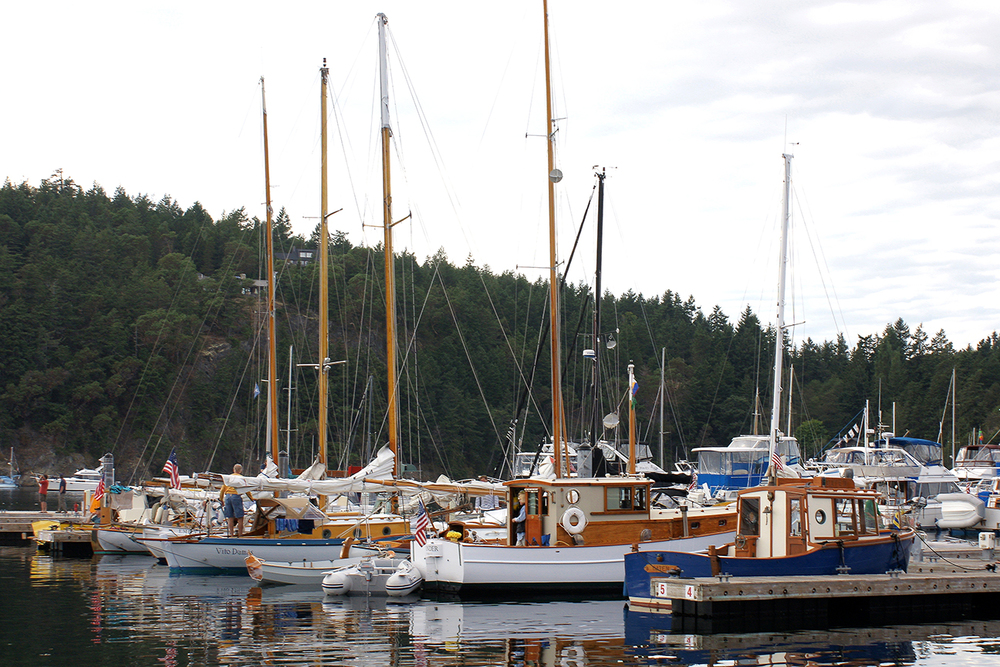 12th Annual Deer Harbor Wooden Boat Rendezvous Sep 2-4, 2013