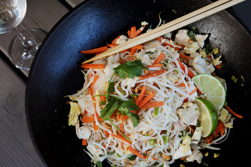 Holly's Pad Thai Noodles Photo by Holly Stickley