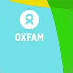 Oxfam's twitter visual