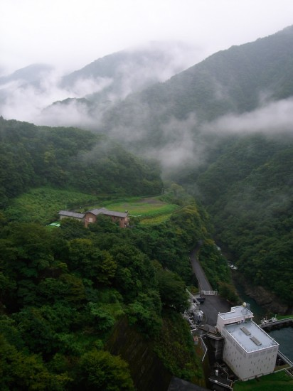 View from Okutama Dam (Ricoh GR Digital)