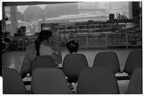 Yixian Bus Station waiting lounge (Leica M6 + 50mm f2 Summicron + Kodak Tri-X)