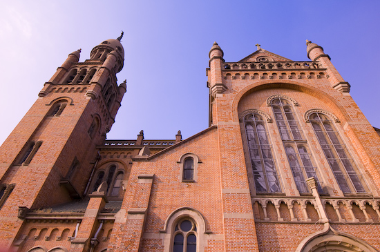 Sheshan Basilica (Nikon D300, 12-24mm f4)