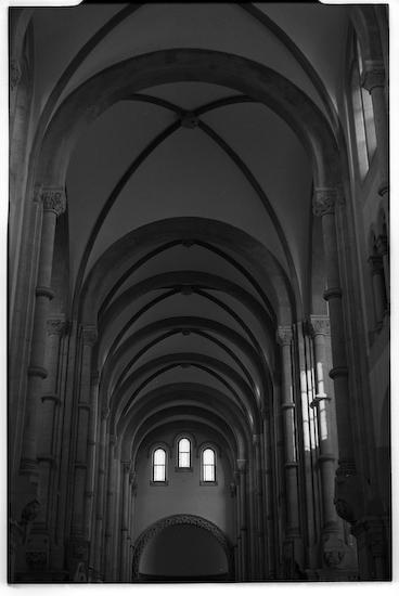 Sheshan Basilica Interior (Leica M3, 50mm f1.5 Summarit, Kodak 125PX)