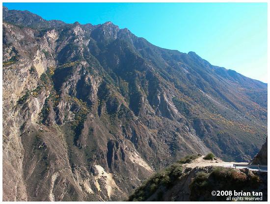 More mountain top road