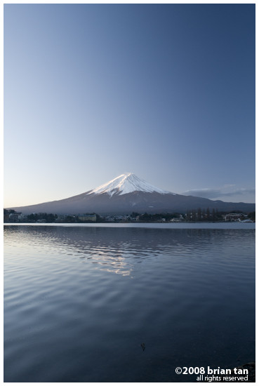 Mount Fuji from Kawaguchiko