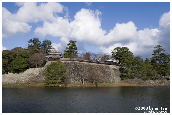 Matsue-jo Outer wall & moat