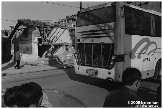 Shanghai Bus, encountered on the way looking for that bus that will take me to Nanxiang