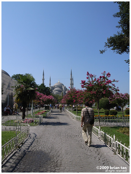 The first thing one does in old Istanbul is to stumble upon Sultanahmet Square
