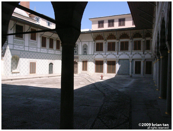 Interior Shot 2: At least I remember this one was shot at the Harem part of the palace
