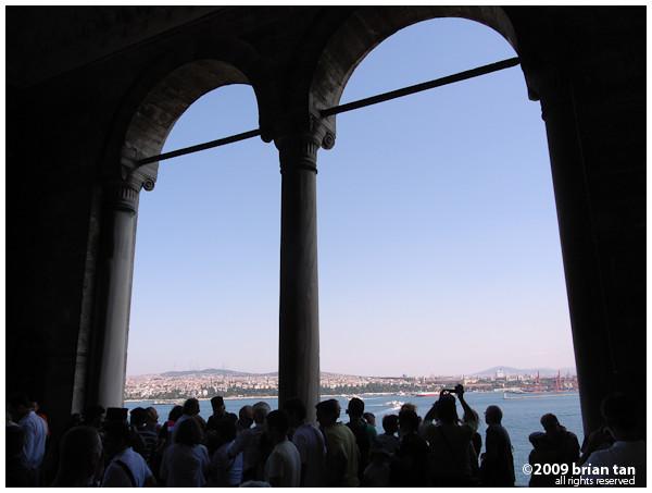 Pavillion overlooking the Bosphorus