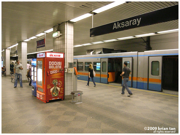 Aksaray Metro Station