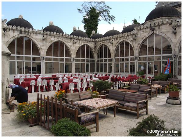 Sehzade Mehmed Sofrasi: Time for a little break...