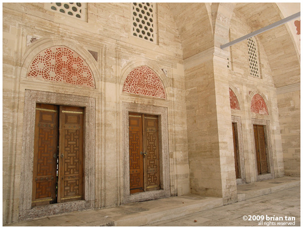 Sehzade Mosque: Up close