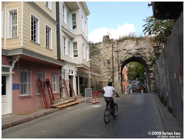 Backlane along Suleymaniye Street