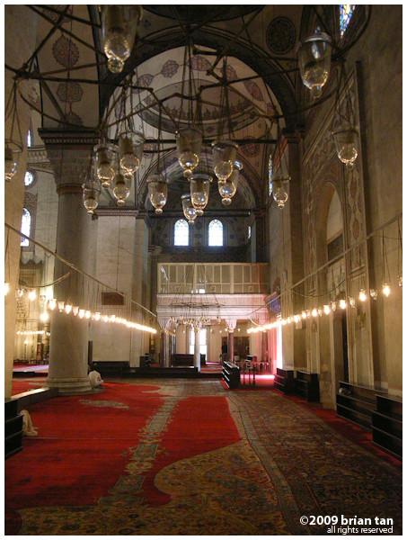 Sultan Beyazit 2 Mosque: Interiors