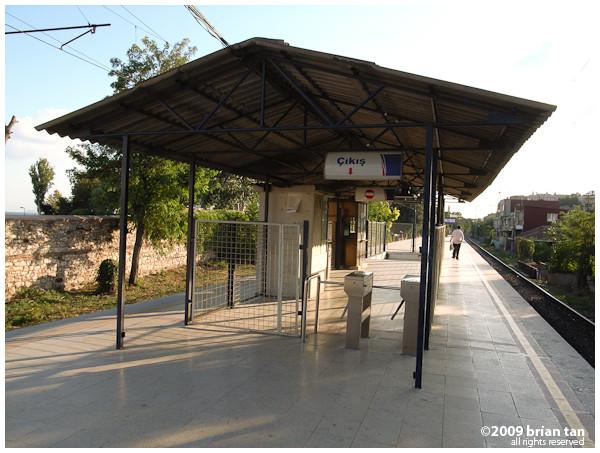Cankutaran train station