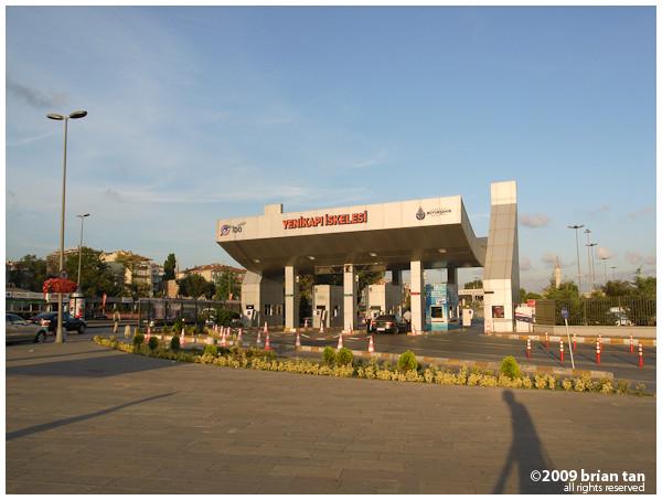 Yenikapi pier vehicle entrance