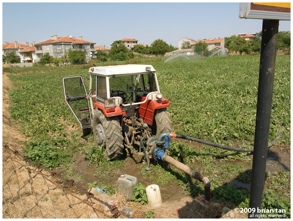 ... like this tractor... pardon the pun