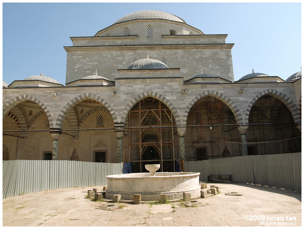 Sultan Beyazid II Complex: Mosque under restoration