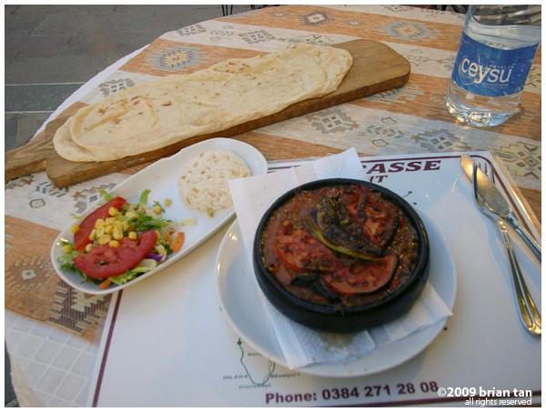 Dinner: Moussaka