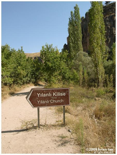 Ihlara Valley: More signs...