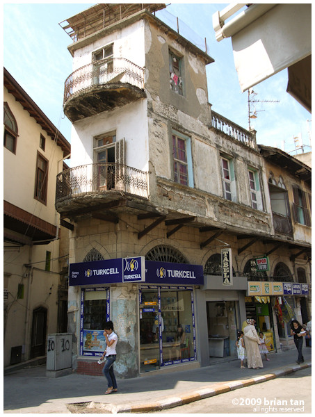Streets in old Antakya