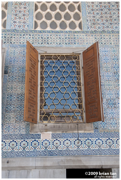 Detailed shots from the Courtyard of the Harem
